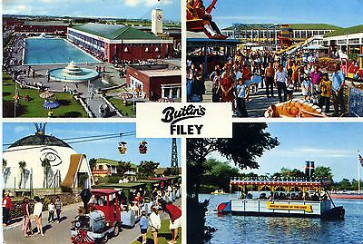 Butlin's Holiday Camp - Filey - Multi View Postcard