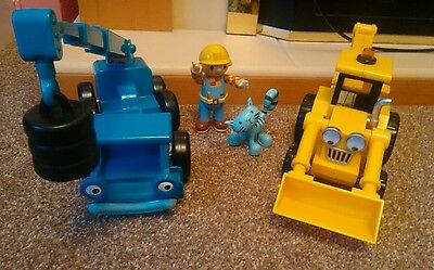 Bob  Builder Lofty Friction Crane Vehicle and scope digger