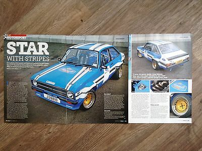 FORD ESCORT Mk2 Mexico 1977 - Classic Modified Test Article