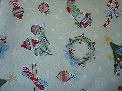 "Longaberger Set of Two Christmas All the Trimmings 19"" in Square Napkins - NEW"