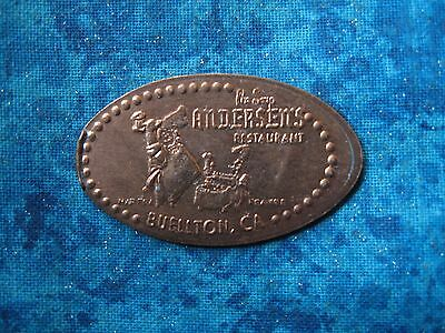 ANDERSEN'S PEA SOUP CALIFORNIA Elongated Penny Pressed Smashed 4