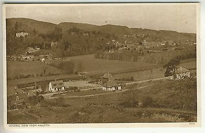 A Post Card of General View From Ragleth. Shropshire