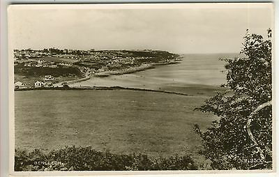 A Valentine's Real Photo Post Card of Benllech. Anglesey.