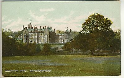 An Early Post Card of Worsley Hall, Nr. Manchester