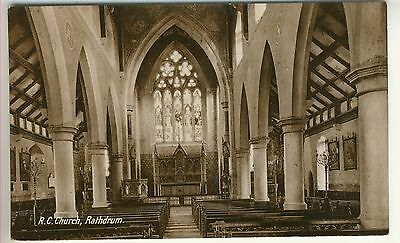 An Early Post Card of R.C. Church, Rathdrum. Co. Wicklow. Ireland. (Interior)