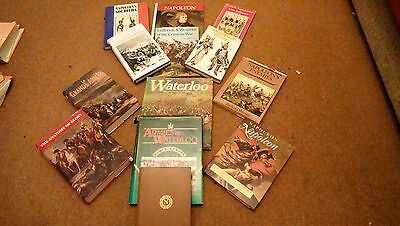 Napoleonic and Waterloo book collection