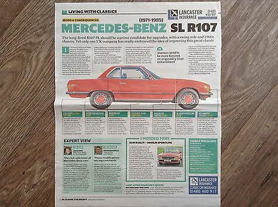 MERCEDES-BENZ R107 SL - Classic Owner's Guide Article