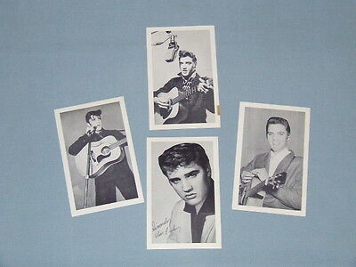 "Original 1956 Elvis Photo Lot (4) Photos ""Complete Set"" Mail Order Only"