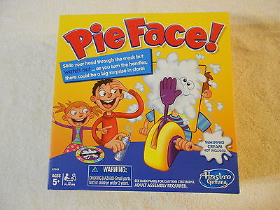 New In Box Pie Face Game