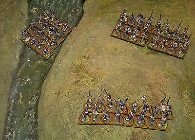 28mm French Metal Napoleonic Painted & Based Infantry 3 units (16 +16 + 24)