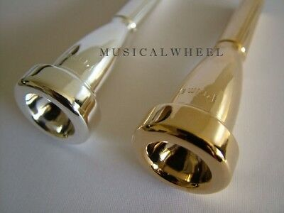 TRUMPET MOUTHPIECE  --  PRIMA C  -- SILVER  or GOLD PLATED 5C