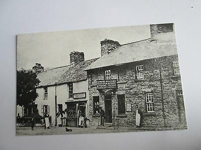 Postcard of Bala 1890's, Edward Williams Photographer & Fishing Tackle repro