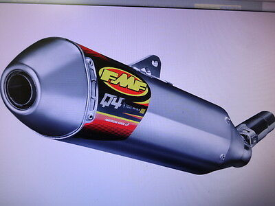 Yamaha Wr450F 2012 2013 2014 2015  Fmf Q4 Slipon Exhaust  Spark Arrestor  Hex