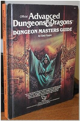 1979 Tsr Official Advanced Dungeons & Dragons Players Handbook 2011 Vg Cond Nr