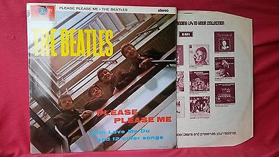 Beatles Please Please Me RARE 1-EMI Near Mint complete copy 1969 stereo LP