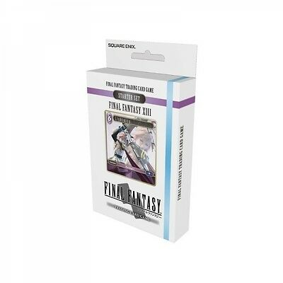 Final Fantasy Trading Card Game Final Fantasy 13 Starter Set Brand New