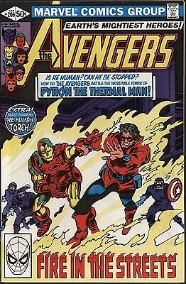 Avengers #206 Vs Pyron! Human Torch Appears. Nm- Cents Gene Colan Art