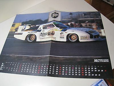 Mazda RX-7 Japanese Literature 1982  '82 Le Mans 24 hours