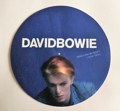 New 2016 HTF Promo Only David Bowie Who Can I Be Now Slipmat Pad