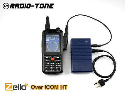 Radio Over Zello Controller + RT3 Android Smart Phone For ICOM IC-V8, IC-V21,