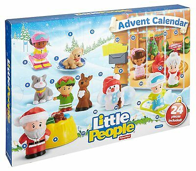 FISHER PRICE Little People Advent Calendar NEW Christmas Activity for Kids Toy