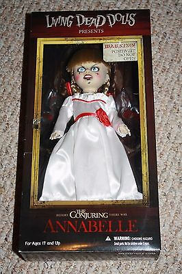 Mezco Living Dead Dolls The Conjuring Annabelle Bloody Tear Variant *BOX DAMAGE*