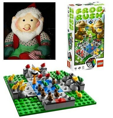 LEGO Games Frog Rush Special Edition 3854 107 pcs Brand NEW SEALED