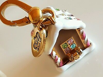 Christmas Juicy Couture Limited Ed. Gingerbread House 2007 Clip Charm Pendant