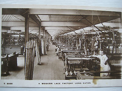 Long Eaton...lace Factory..1912...owned By Joe Davies...rp