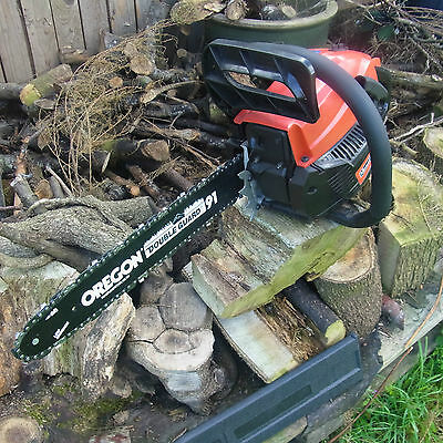 """NEW 16""""  MOUNTFIELD MC3720 PETROL CHAINSAW with   FREE CARRY CASE Limited offer"""