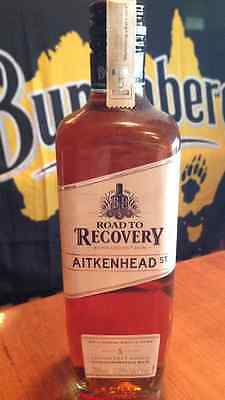 Bundaberg Rum Road to Recovery AITKRNHEAD ST R2R Limited 2013 Edition & Sticker