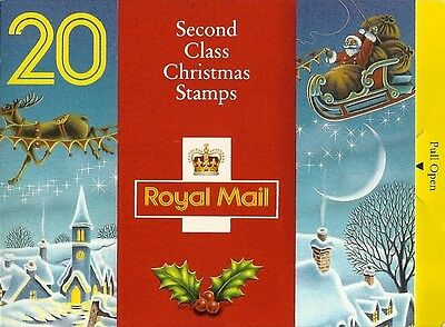 GB Stamps: 1992 Christmas Booklet LX3.
