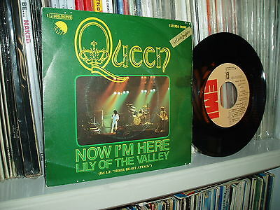 "QUEEN LOTE 7 X 7"" Now I´m here  spanish sleeves SPAIN"