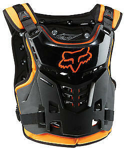 2017 Fox Racing Youth Orange ProFrame Motorcycle Chest Protector, MX, Offroad