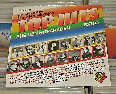 Club Top 13 - LP (VG+) Various EXTRA 1989 - Kate Bush, Depeche Mode, The Cure