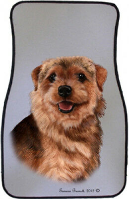 Car Floor Mats Pair - Norfolk Terrier 36225