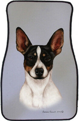 Car Floor Mats Pair - Rat Terrier 36130