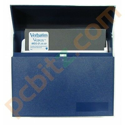 "Verbatim MD2-D 5.25"" Floppy Diskettes Double Sided/Density - 10 Pcs (New)"