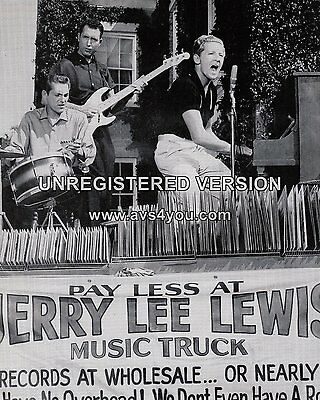 "Jerry Lee Lewis 10"" x 8"" Photograph no 48"