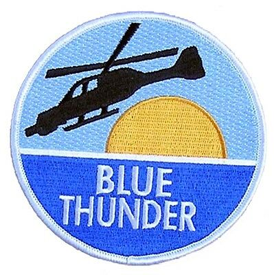 Blue Thunder Movie Patch - Aufnäher - Helicopter