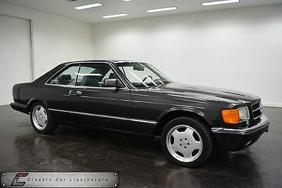 1989 Mercedes-Benz 500-Series Car 1989 Mercedes-Benz 560 SEC