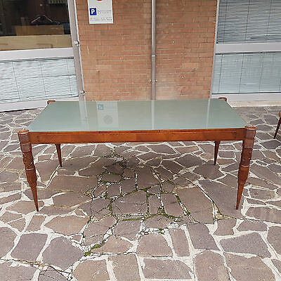 "Rare Italian Table From Pier Luigi Colli Signed ""frama Mobili Fratelli Marelli """