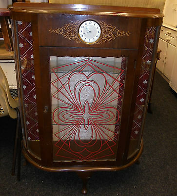Vintage Glass Display Cabinet collection tyneside only