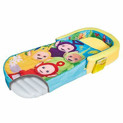 Official Teletubbies My First Ready Bed Sleepover Solution Kids Travel Bed New