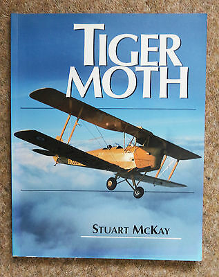 The Tiger Moth by Stuart McKay (Paperback, 1997) Very Good