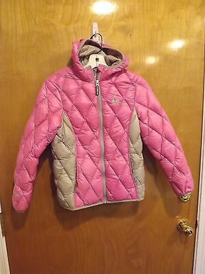 Gerry Hooded Down Jacket Coat Girl's Size M 10 - 12