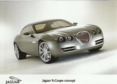 Lovely Jaguar R Type Coupe XKR V8 Based Concept Original  Photograph x 3