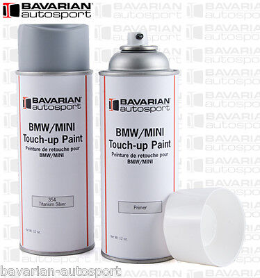BMW Touch Up Paint - 12 oz Spray Can - Sapphire Black  - Color Code 475