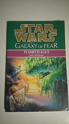 Star Wars Galaxy of Fear - Planet Plague paperback book.