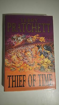Terry Pratchett - Theif of Time - Never Read First Edition Hardback  Discworld